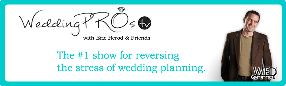 Introducing WeddingPros.TV: The show to take away your wedding planning stress