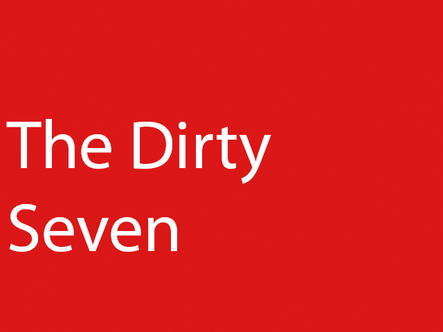 The Dirty Seven: 7 Songs Only Played when Requested