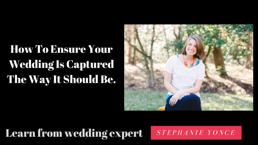 "Putting The 'Hot"" in Photography: How To Ensure Your Wedding Is Captured The Way It Should Be."